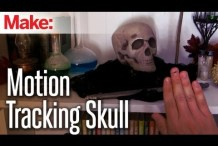 DIY Hacks & How To's: Motion Tracking Skull