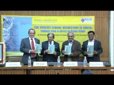 Release of The Private School Revolution in Bihar.avi