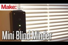 Automate Your Window Shades with the Mini Blind Minder & Weekend Projects