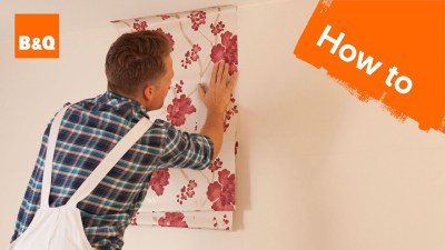 How to Hang Wallpaper Part 2: Hanging - YouTube