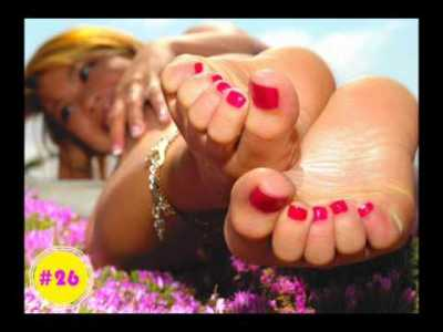 MOST BEAUTIFUL FEET AND TOES IN THE WORLD - YouTube