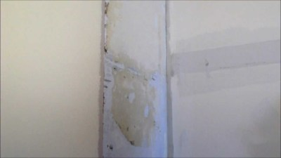 Hard To Remove Wallpaper - Sheetrock unsealed / No sizing DIY Video - YouTube