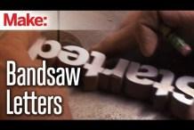 Diresta: Bandsaw Letters