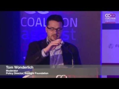 Tom Wonderlich | Coalition against corruption