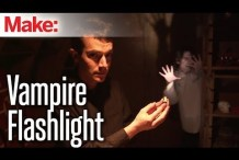 Give Dead Batteries Another Life with the Vampire Flashlight