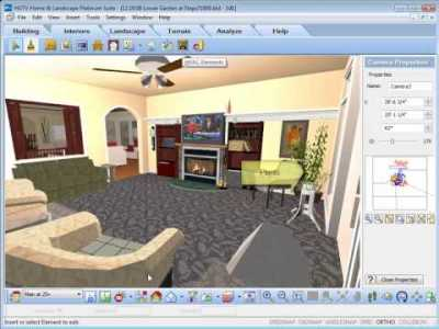 HGTV Home Design Software - Inserting Interior Objects ...
