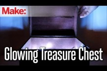 DIY Hacks & How Tos: Glowing Treasure Chest