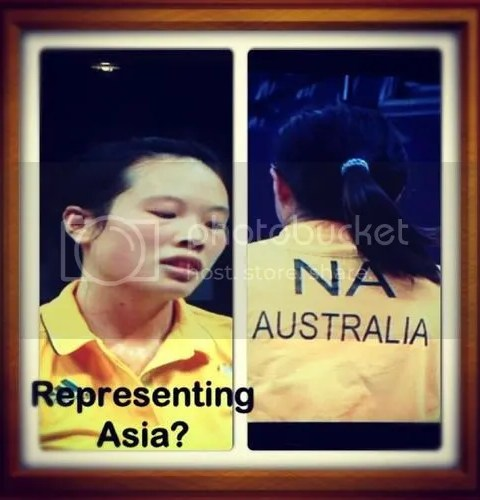 representing asia?