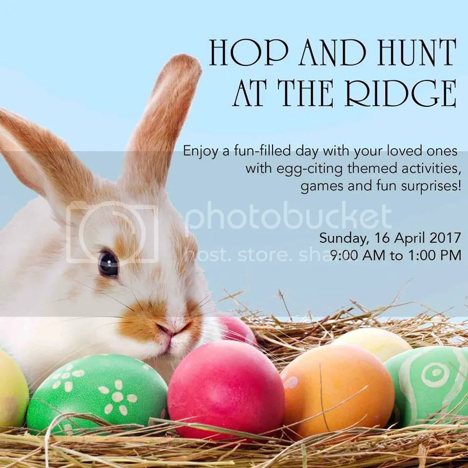 Tagaytay Easter Events 2017