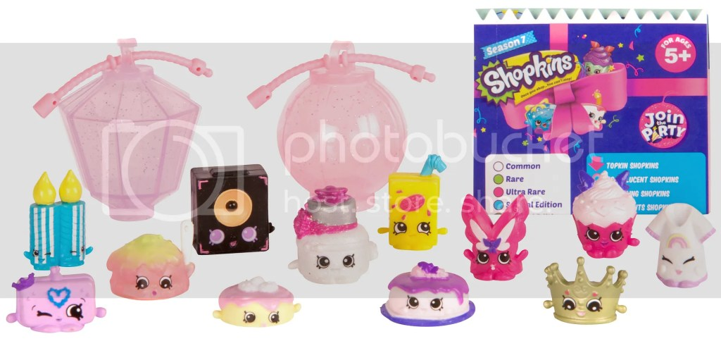 Shopkins Season 7 Party Collections