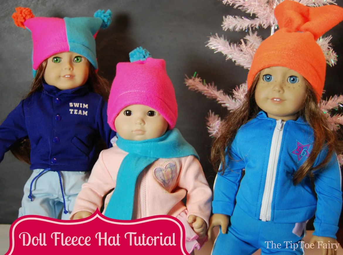American Girl Fleece Hats