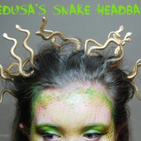DIY Halloween: Medusa Snake Headband Tutorial