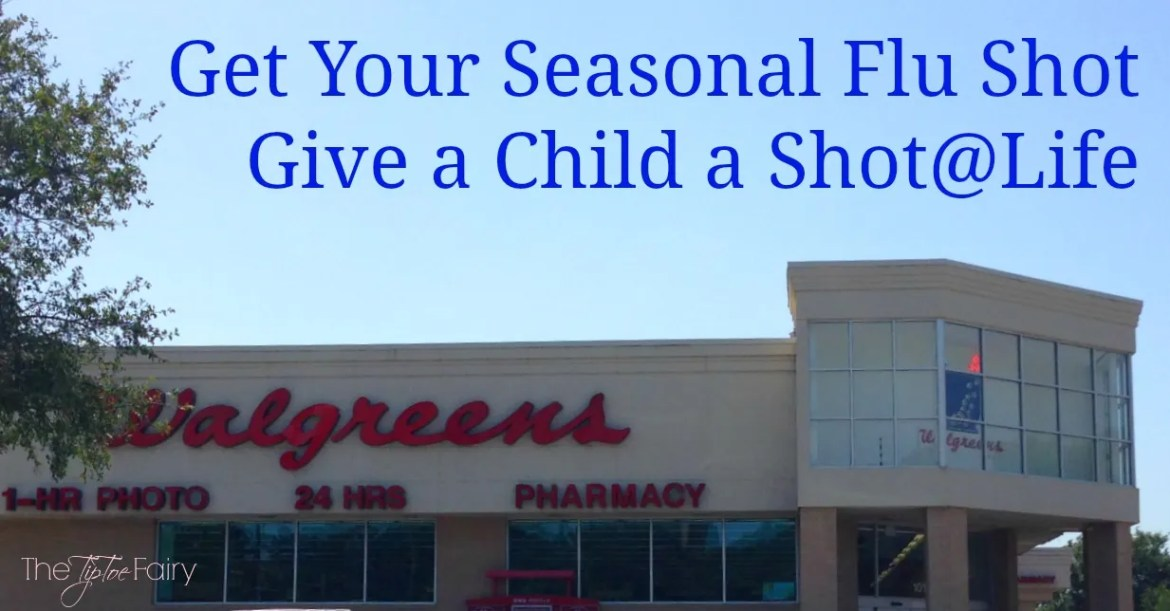 Get Your Seasonal Flu Shot and Give a Child a Shot@Life | The TipToe Fairy #GetAShot #CollectiveBias #shop