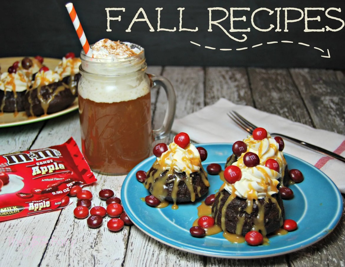 Fall Recipes: Mini Chocolate Caramel Cakes and Mulled Apple Cider   The TipToe Fairy #FlavorofFall #CollectiveBias #shop #chocolatecake #mulledapplecider