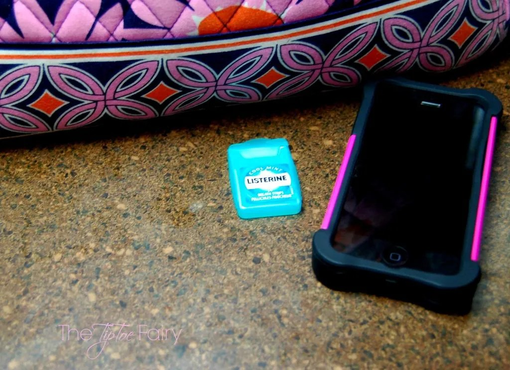 How we are learning to have better oral care with LISTERINE® products  The TipToe Fairy #sponsored #MC #oralcare #dentalcare #flossing