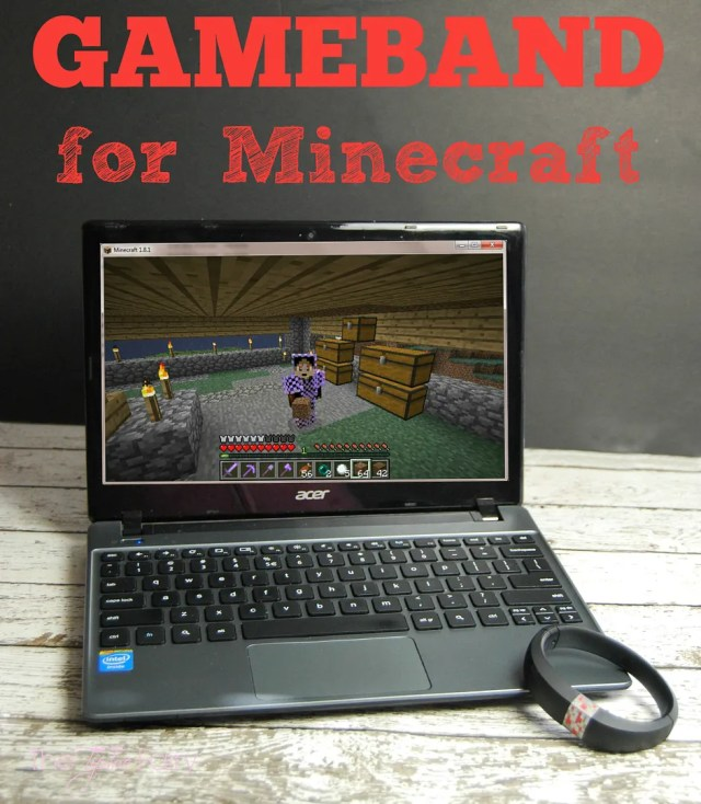 THE Hot new item for tween and teen boys and any Minecraft gamer!! The Gameband for Minecraft!! Perfect for a gift! Come checkout what my 10 yr old thinks!   The TipToe Fairy #ad #GameOnTheGo @MyGameband #minecraft