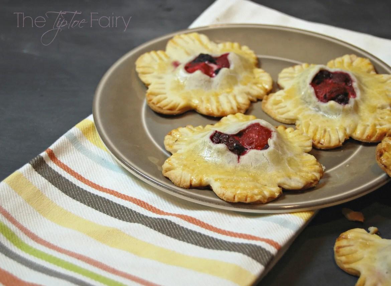 Triple Berry Pie Cookies | The TipToe Fairy