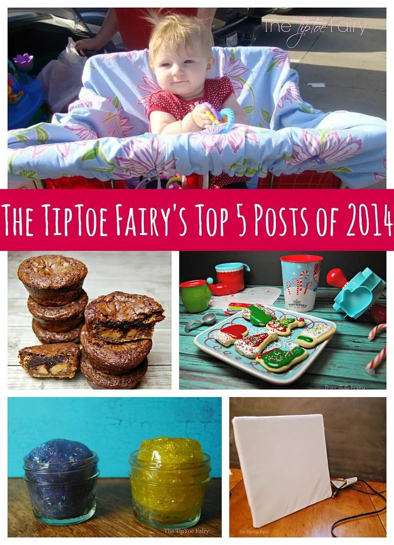 The Top FIVE Posts for 2014 from The TipToe Fairy