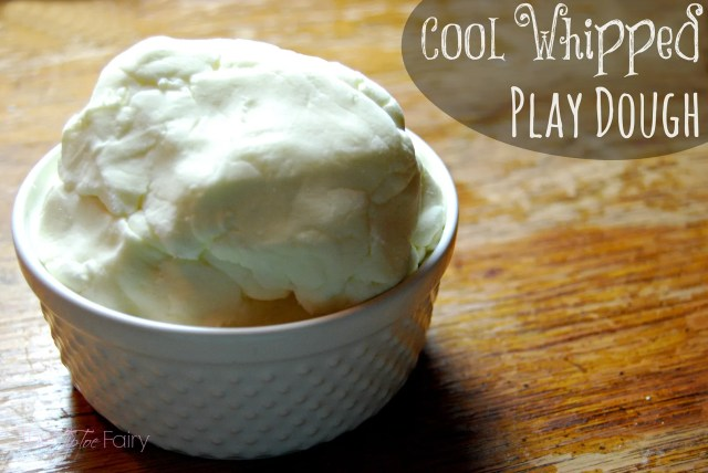 Cool Whipped Play Dough