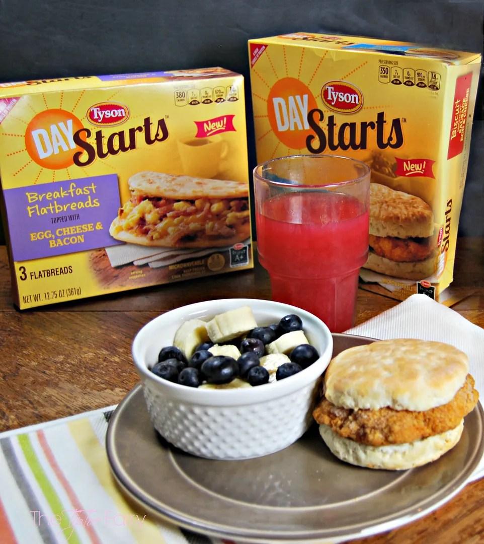 Tyson® Day Starts™ sandwiches - a #BetterBreakfast for you!! #TysonDayStarts | The TipToe Fairy