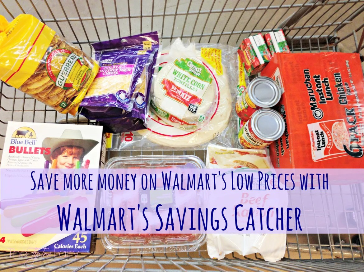 Walmart Savings Catcher | The TipToe Fairy #WMTSavingsCatcher #savingmoney #contest