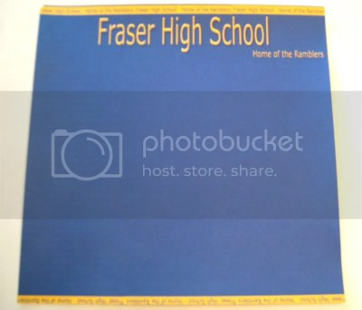 Fraser High School 12x12 Paper By A2 Digital Designs - Papers at A2 Digital Designs ...