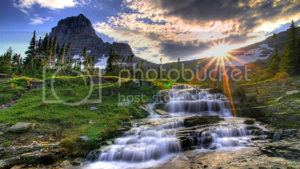 Gambar Gambar Pemandangan Pemandangan photo Waterfall_high_quality_hd_wallpaper jpg 1024x576