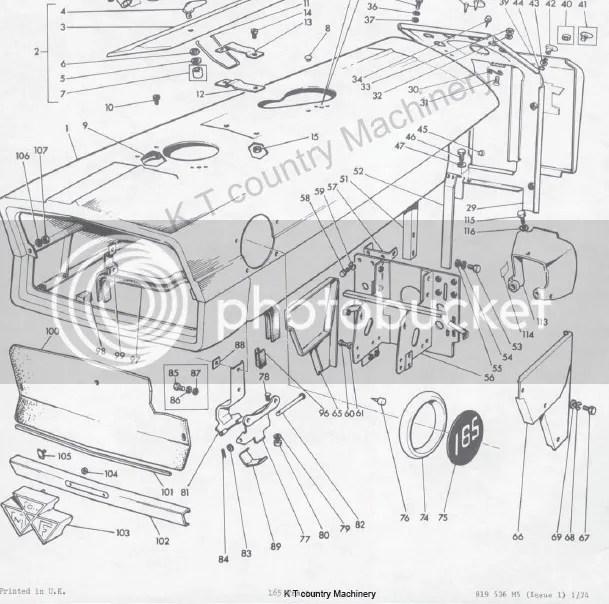 massey ferguson 135 parts manual pdf carnmotors com rh carnmotors com massey ferguson 165 wiring engine diagram mf 165 tractor wiring diagram