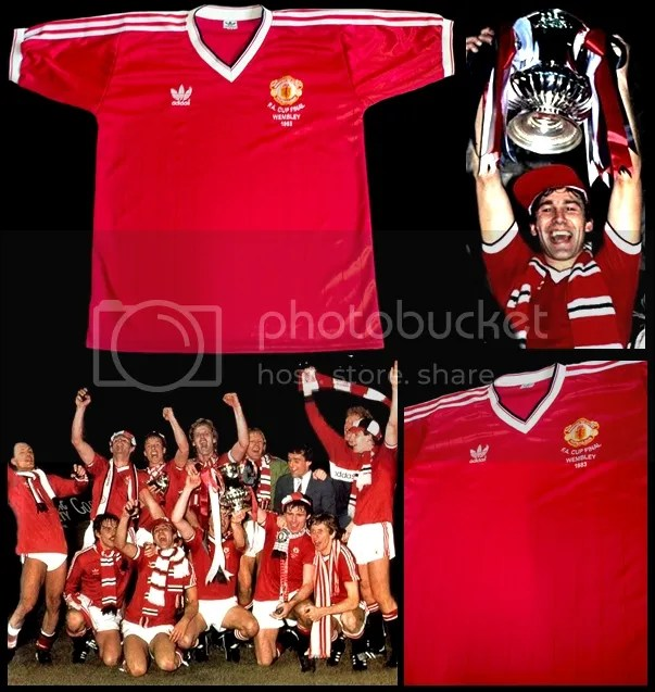 Suble Indonesia Is Not Manchester United 1983 FA Cup Final Retro Shirt NEW Man Utd Jersey x