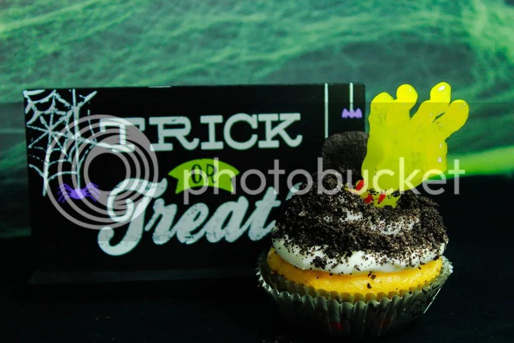 Recipe: Spooky Zombie Cupcakes  #SpookySnacks