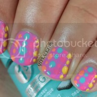Nail art for beginners: Dots nails