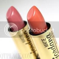 Jordana matte lipsticks