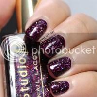 NOTD: Fall & Glitters