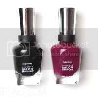 My favorite Sally Hansen nail polishes