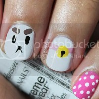 Puppycat nail art