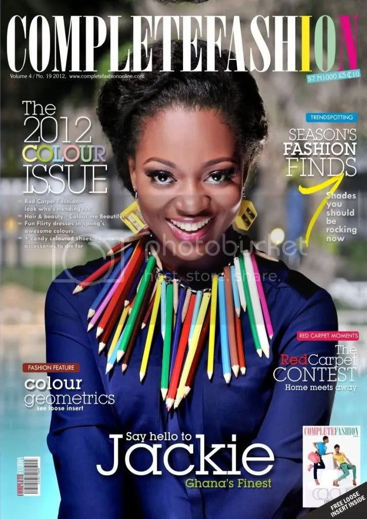 jackie appiah magazine cover