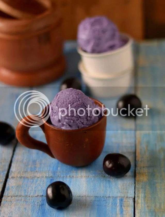 Jamun Icecream / black plum icecream- without cream 3