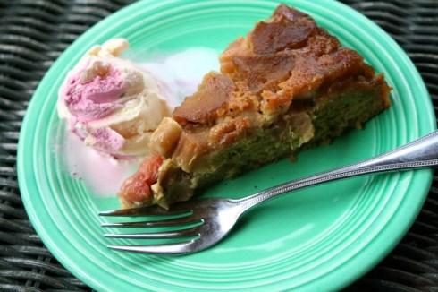 Kate's Rhubarb Upside Down Cake | Korena in the Kitchen