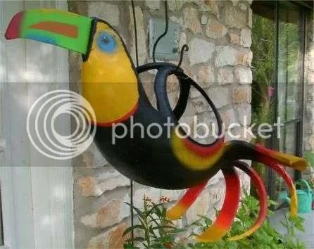 Птицы из покрышек мастер класс