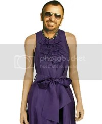 Ringo in a dress