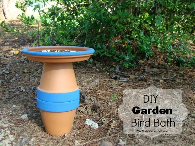 DIY Garden Bird Bath Project - Miracle Gro The Gro Project