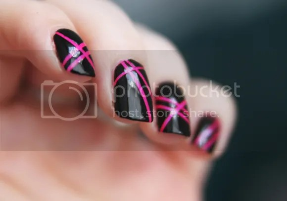 Nail Of The Day Striping Tape Nails Beauty N Spice