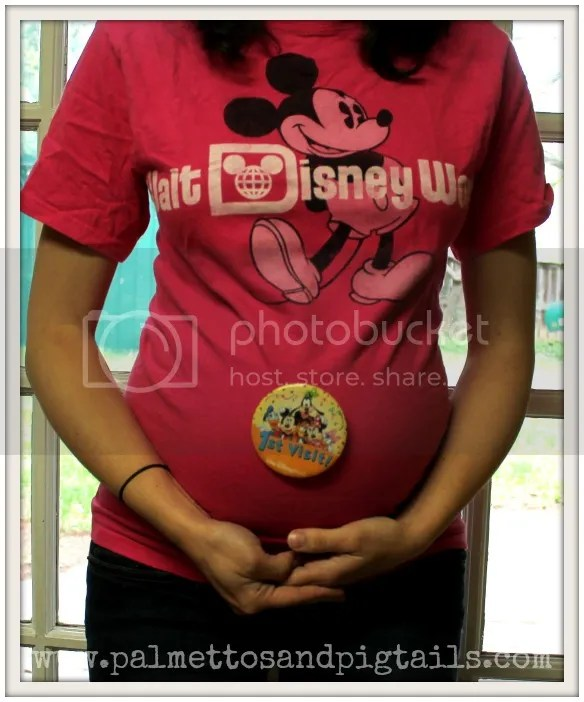 Tips for doing Disney while Pregnant from Palmettos and Pigtails