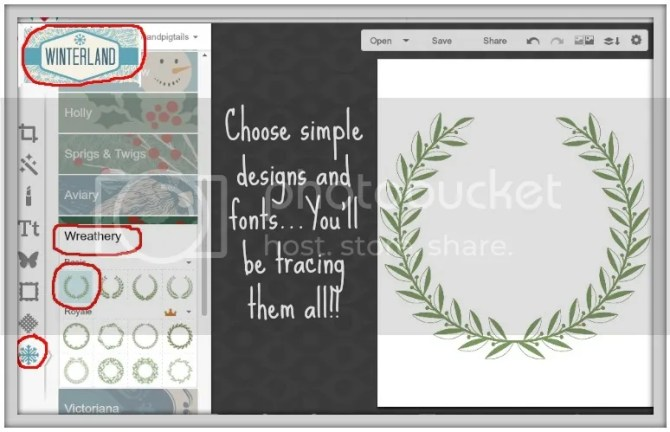 How to use PicMonkey to create an image for Chalkboard Art