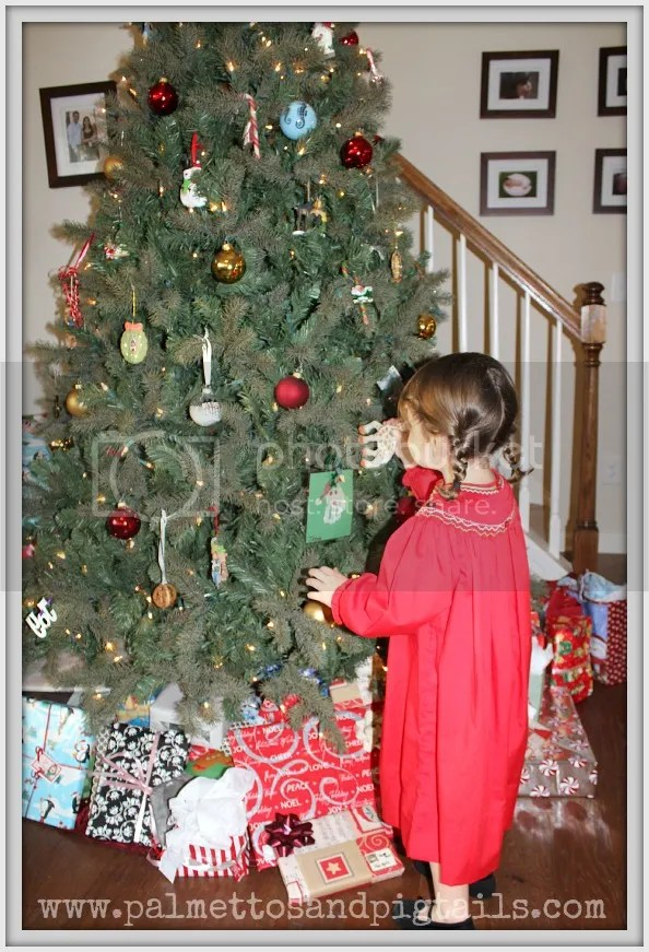 Christmas Traditions from Palmettos and Pigtails