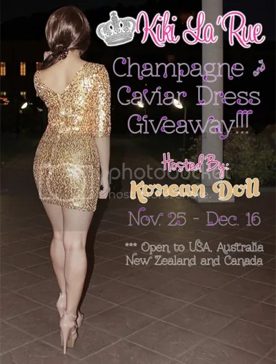 Dress and Cash Prize Giveaway