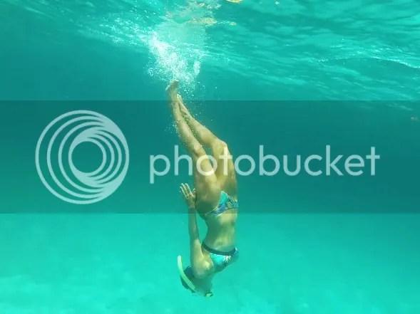 Dani in the water Swimming Pool