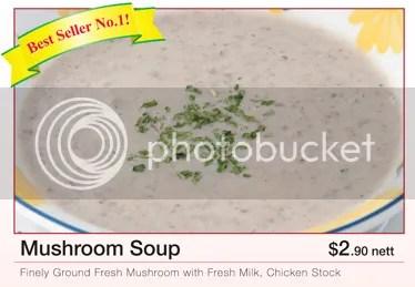 Mushroom Soup (c) Saizeriya