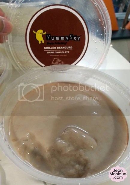 Dark Chocolate Chilled Beancurd