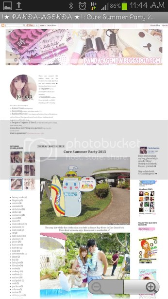 Bloglovin Android App - Post View